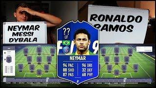 Das passierte noch NIE im FIFA 19 NEYMAR Rating Squad Builder Battle! - Fifa 18 Ultimate Team