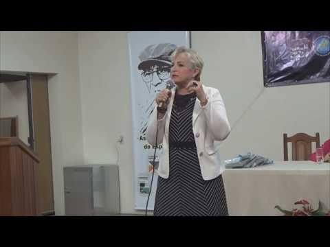 Izabeti Bittencourt - Palestra na 78ª Semana Espírita Macaense