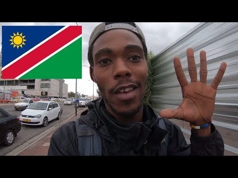 A Lost American in Windhoek Namibia