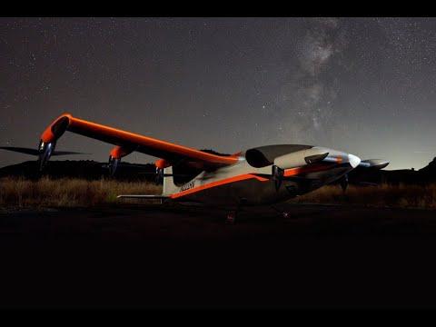 Электрический самолет Heaviside стартапа Kitty Hawk. Дальше, быстрее, тише