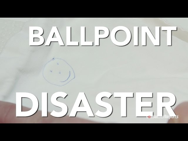 The Best Way To Remove Ballpoint Pen Ink Stains From Clothing - How-to-remove-ballpoint-pen-ink-stains-from-fabric