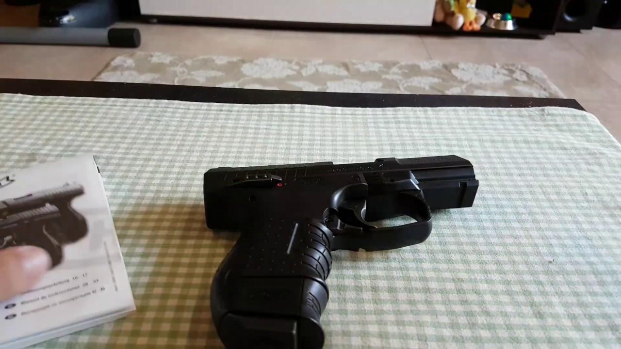 Въздушен пистолет Walther CP99 Compact USER MANUAL а С м