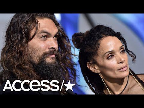 Jason Momoa & Wife Lisa Bonet Look Happy & In Love At The 'Aquaman' Premiere | Access