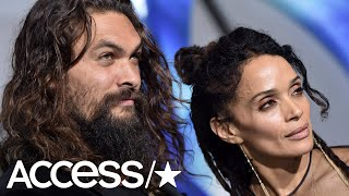 Jason Momoa & Wife Lisa Bonet Look Happy & In Love At The 'Aquaman' Premiere | Access