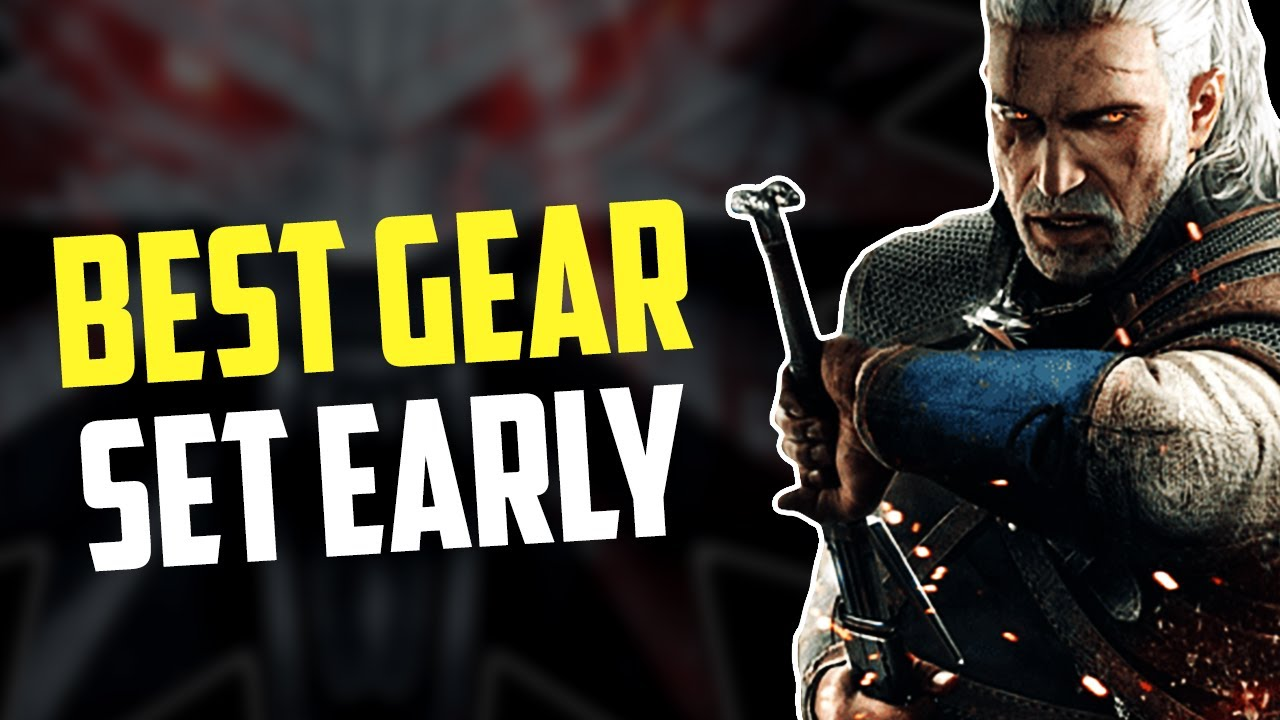 Best Early Game Gear Locations! - Witcher 3 (Griffin Gear) Explained Under 3 minutes!!