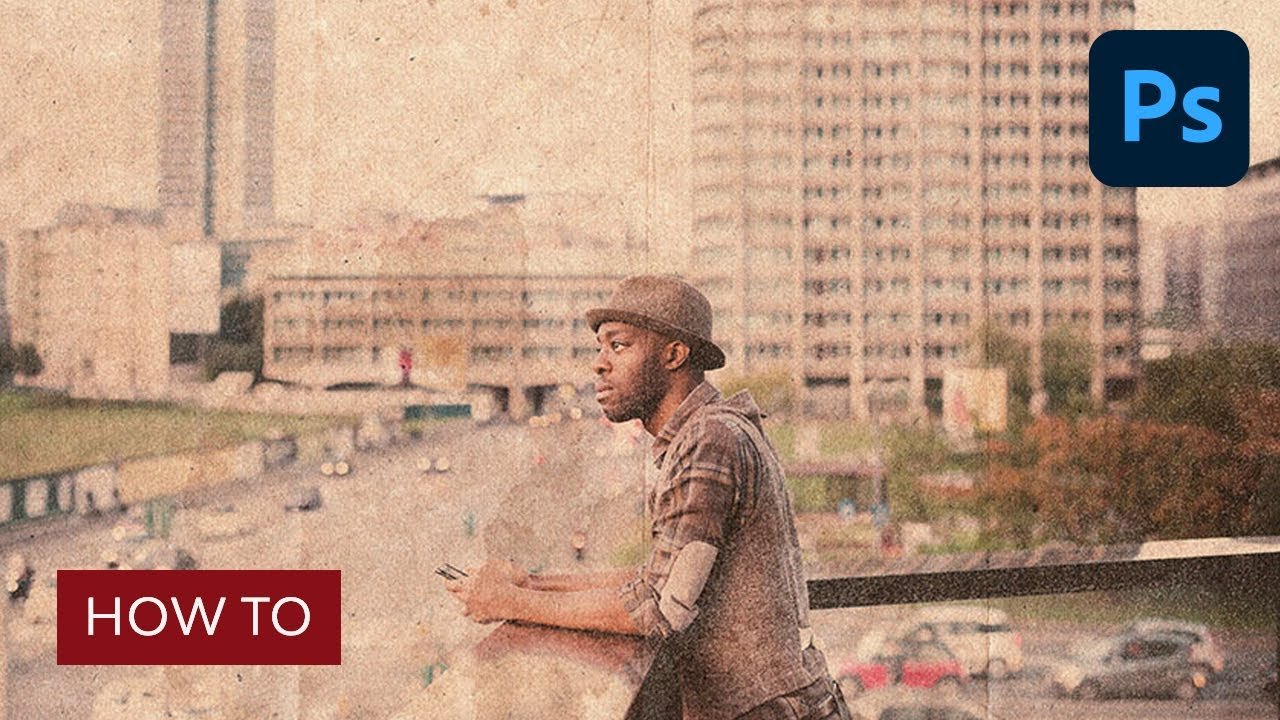 How to Make a Distressed Effect Photoshop Action