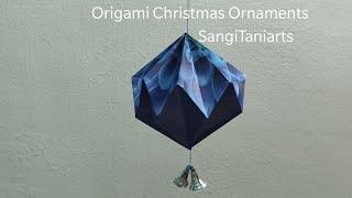 #Origami Christmas ball | diy #Christmas ornaments | Christmas decorations #diy