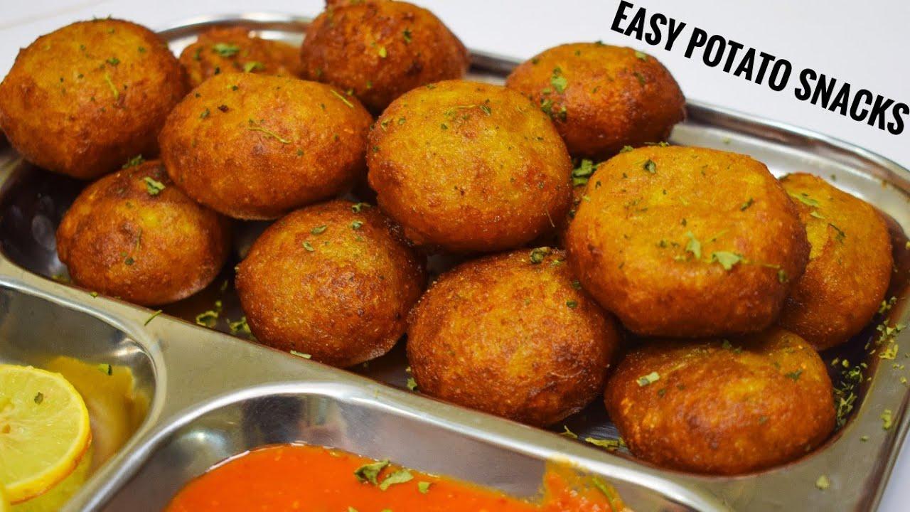 Only 4 ingredient Potato Snacks| आसान आलू स्नैक्स | Indian Instant Snacks