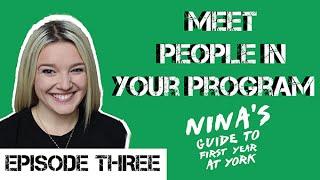 Nina's Guide to First Year at YorkU - Episode #3