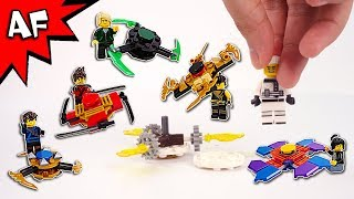 Lego Ninjago Brick Building FIDGET SPINNERS with Ninja Minifigures