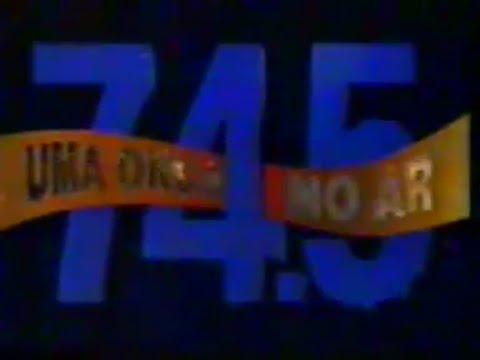 Chamada 74.5 - Uma Nova Onda no ar 1994 - Rede Manchete