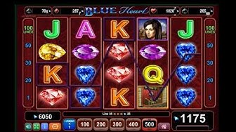 Blue Heart Slot - BIG WIN - Best Flash Online Casinos For US Players