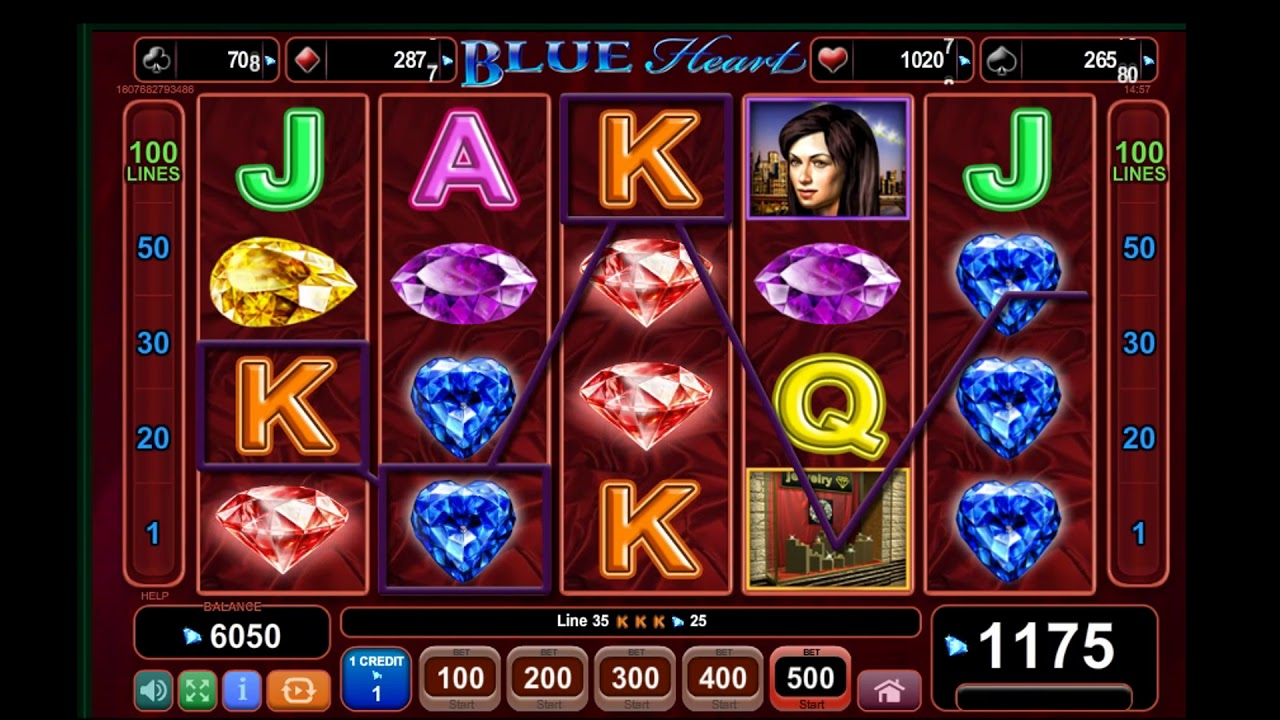 Blue Heart Slot