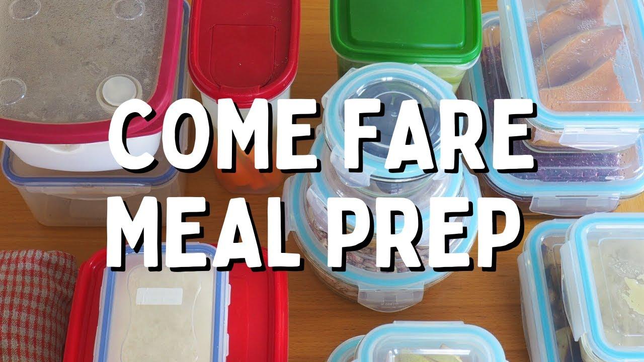 Come Organizzare I Pasti Settimanali come pianificare e organizzare i pasti settimanali | meal prep