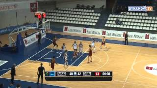 Трансляция матча по баскетболу между командами Динамо (Москва) - Надежда (Оренбург)