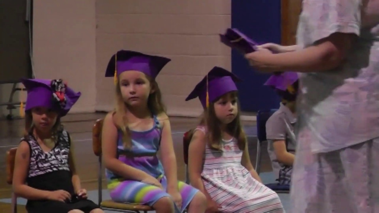 St. Mary's Pre-K Graduation  6-15-12