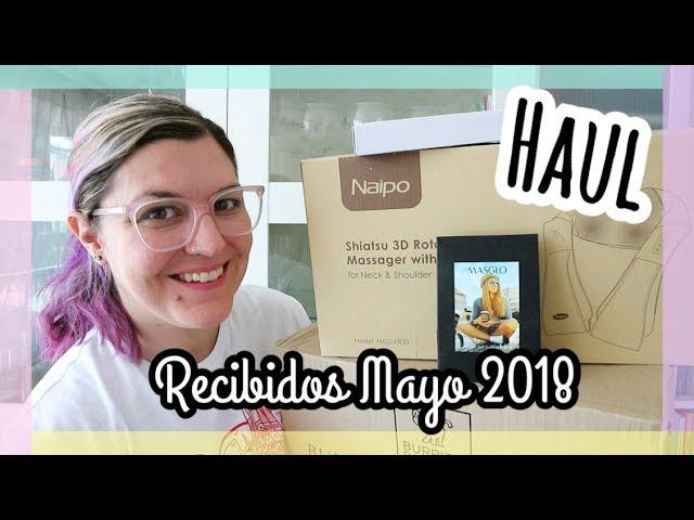 HAUL MAYO 2018 PRODUCTOS RECIBIDOS