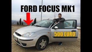 MASINA POTRIVITA PENTRU UN INCEPATOR FORD FOCUS MK1 LA 500 DE EURO. CAR VLOG/REVIEW 131