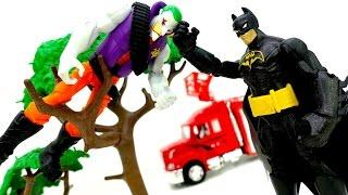 Бэтмен против Джокера. Видео для мальчиков: супергерои