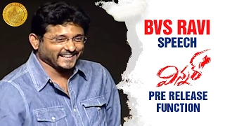BVS Ravi Funny Comments on Anasuya   Winner Pre Release Function   Sai Dharam Tej   Rakul Preet