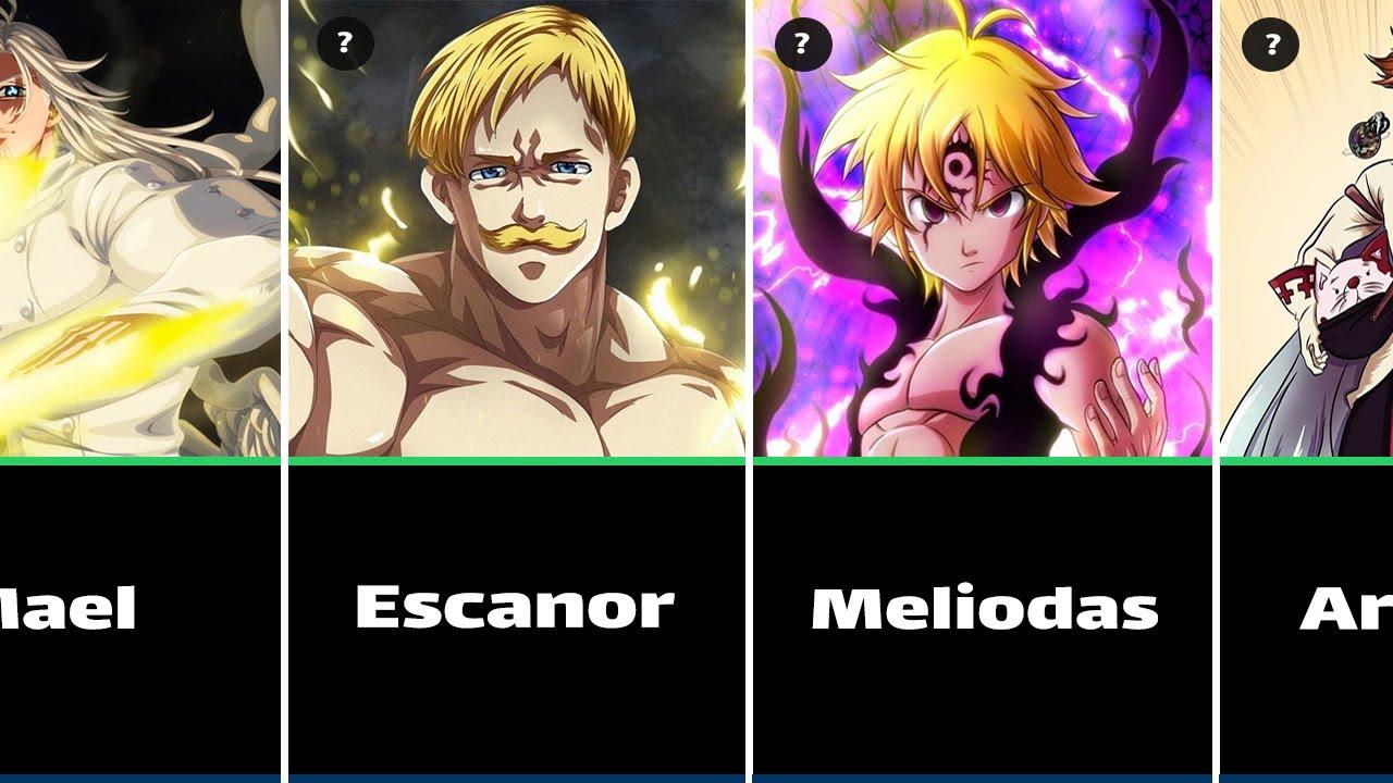 Download Top 50 Strongest Seven Deadly Sins Characters    Nanatsu no Taizai