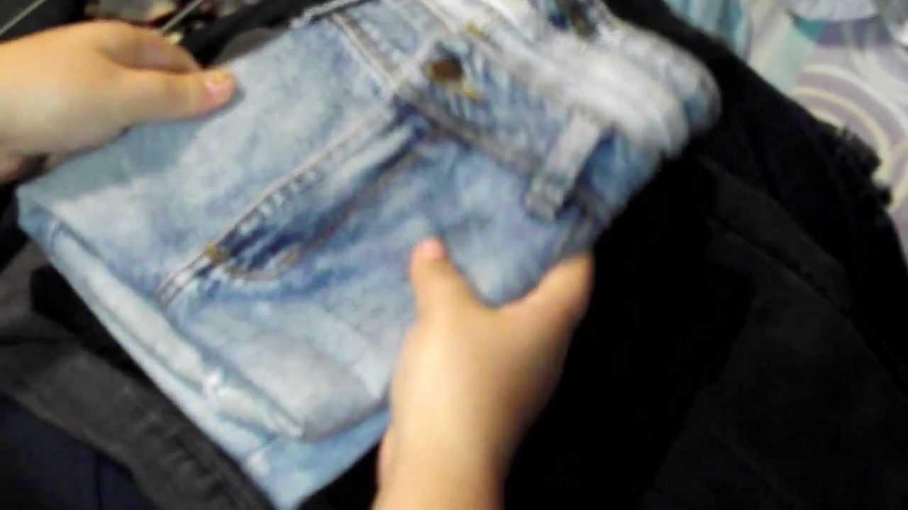 Como dobrar shorts Jeans. - YouTube
