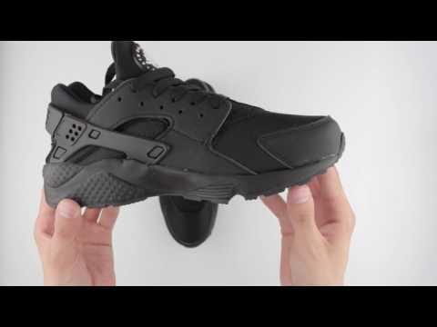 Обзор реплики кроссовок Nike Air Huarache Run Black