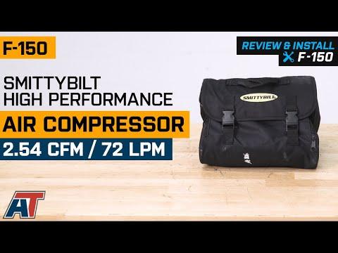 1997-2019 F150 Smittybilt High Performance Air Compressor - 2.54 CFM/ 72 LPM Review & Install