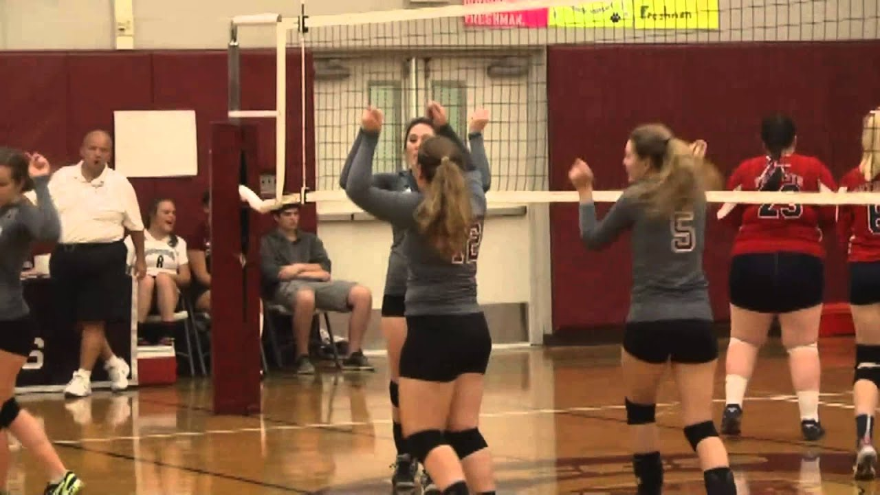 NCCS - AuSable Valley Volleyball  9-24-15