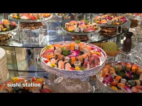awesome food display (Arab wedding)