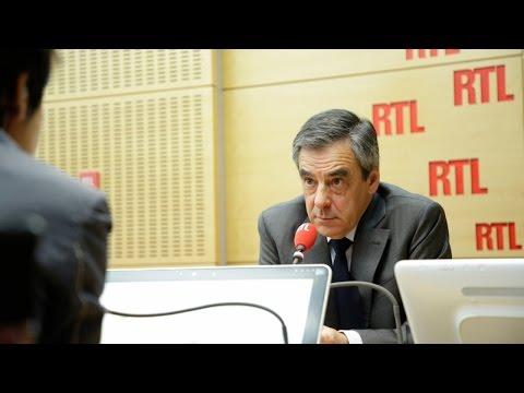 François Fillon était l'invité de RTL le 20 avril 2017