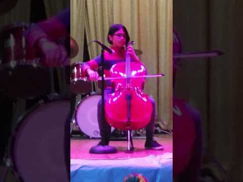 Bach Cello Suite No.1.First Prelude by JD at Camp Avenue School Talent show ,2017