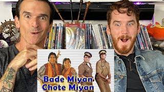 Bade Miyan Chhote Miyan Song REACTION!!   Amitabh Bachchan & Govinda