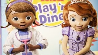 Doc McStuffins & Sofia The First BREAKFAST - Play