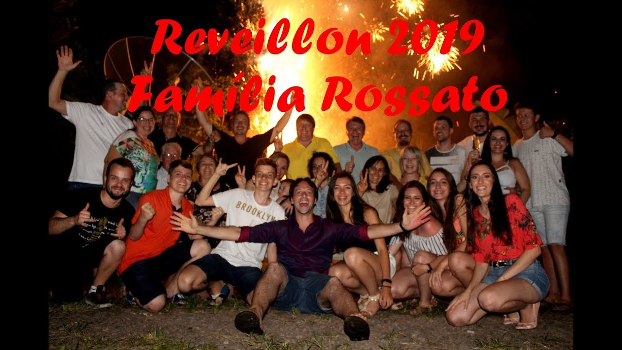 Amigo Secreto Família Rossato - Reveillon 2019
