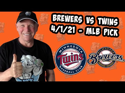 Milwaukee Brewers vs Minnesota Twins 4/1/21 MLB Pick and Prediction [MLB Tips Betting Pick]