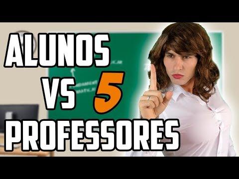 ALUNOS VS PROFESSORES 5