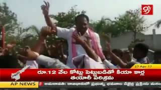 TRS Health Minister Laxma Reddy Dance For Oh Pilla Mounika Song || 99TV ||