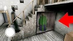 Granny Mod Baldi's basics - Granny caught Baldi teacher in the cage - The Horror Full Gameplay