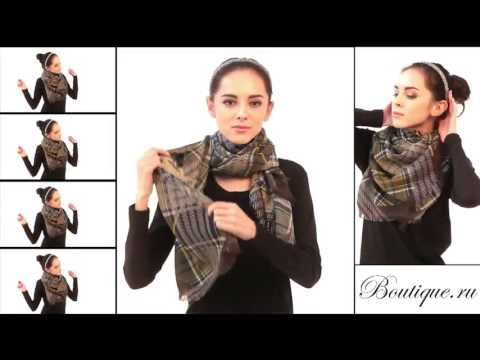 15 způsobu vázání šátku - YouTube b457015edc