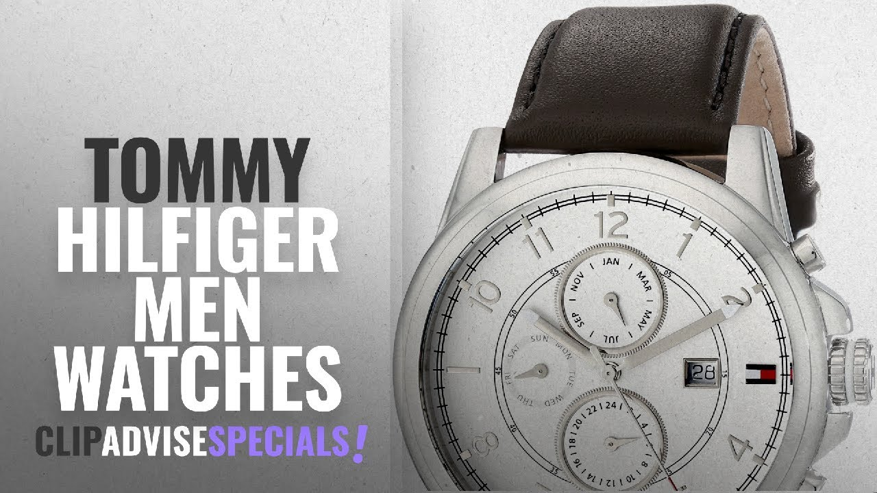 c64fde37d 10 Best Selling Tommy Hilfiger Men Watches [2018 ]: Tommy Hilfiger Men's  1710294 Stainless Steel