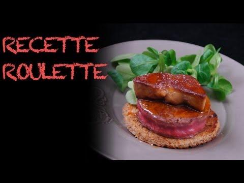 Tournedos Rossini - recette au foie gras !