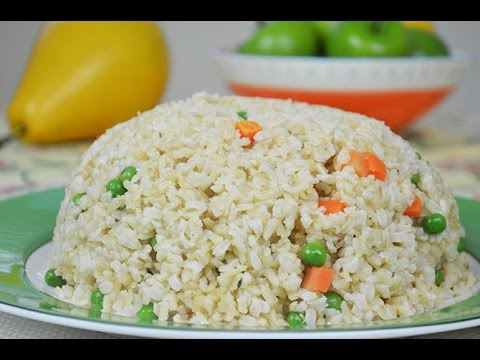 Thyme & Ginger Infused Long Grain Brown Fried Rice Recipe