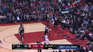 1st Quarter, One Box Video: Toronto Raptors vs. San Antonio Spurs