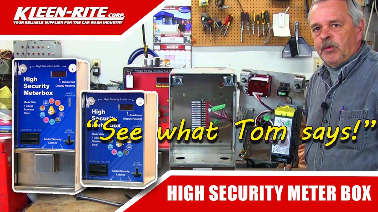 High security car wash meter box youtube high security car wash meter box solutioingenieria Gallery