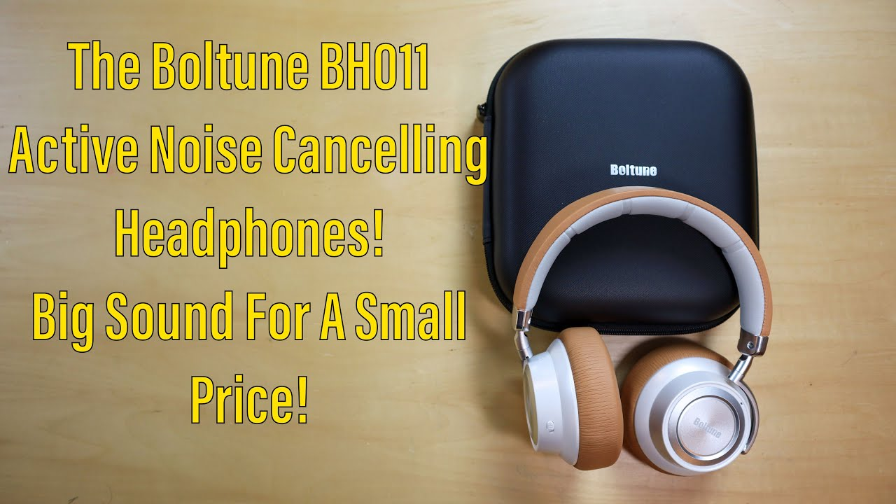 Review Of Boltune's BH011 Active Noise Cancelling Headphones! Premium Sound At An Affordable Price!