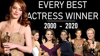OSCARS : Every Best Actress (2000-2020) - TRIBUTE VIDEO