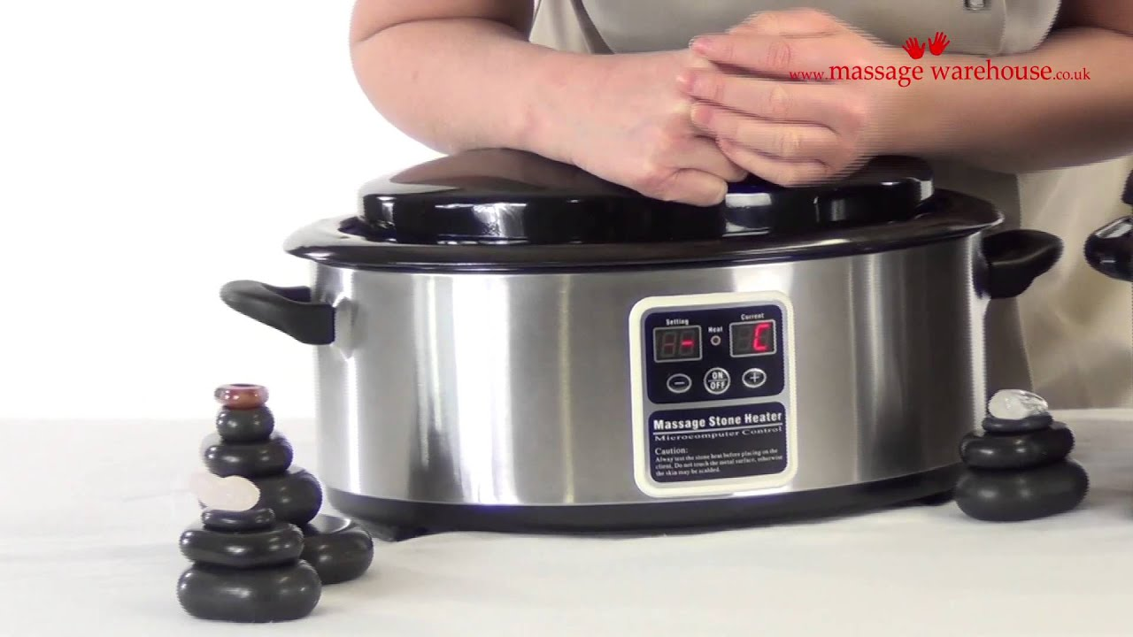6 Quart Digital Hot Stone Heater REVIEW and DEMONSTRATION ...