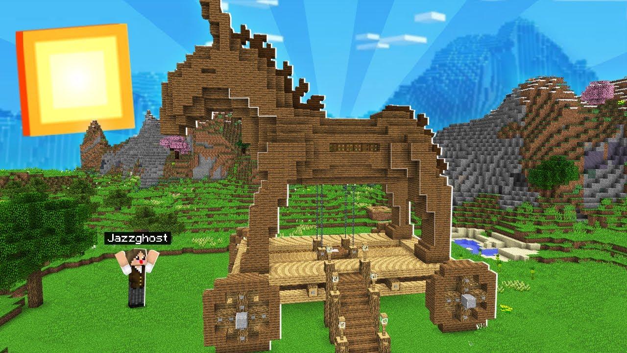 Download Minecraft Ultimato #8: O JEGUE DE TROIA ESTÁ PRONTO! MINHA NOVA CASA!