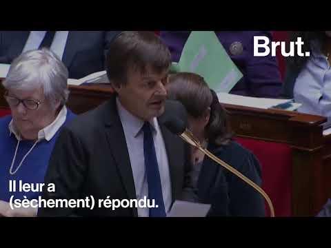 Nicolas Hulot chahuté à l'Assemblée à propos de ses 6 voitures